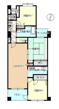 パレ武庫之荘東Ⅱ 画像4