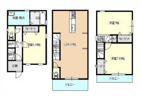 東難波新築住宅 画像1